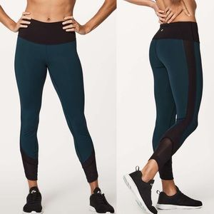 "Lululemon Ready Set Go 7/8 Tight 25"" Submarine"